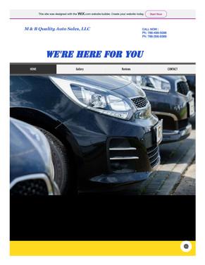 M&B Auto Sales LLC