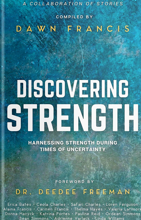 Autograph copy of Discovering Strength