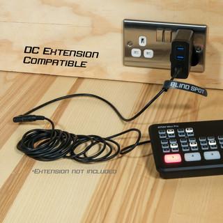 studio mains 12V with extension atem 1.2
