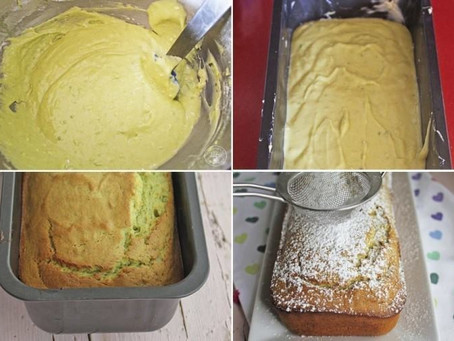Avocado and Lemon Cake