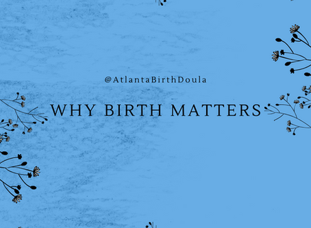 Why Birth Matters