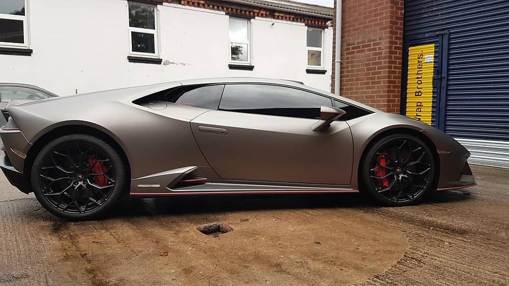 Lamborghini Hurracan Window Tinting