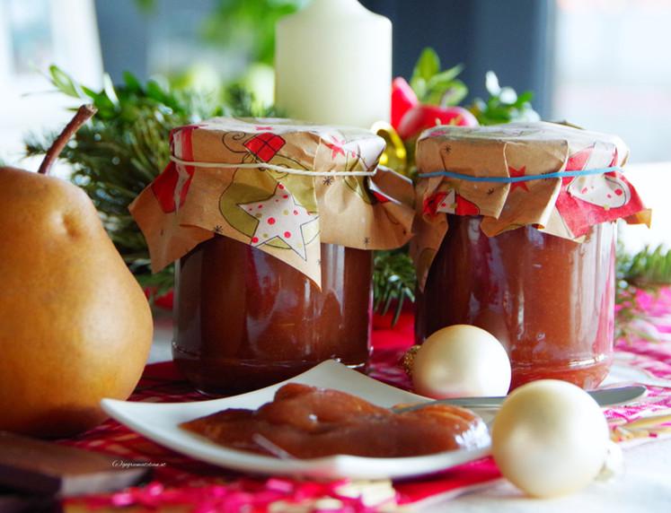 Birnen-Schoko-Marmelade