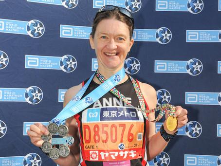 """Six Marathons – Seven Medals"" The Abbott World Marathon Majors series"