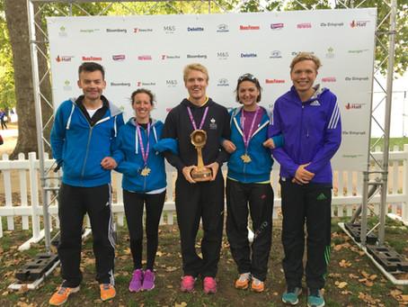 Post Half Marathon & 10 Mile Race