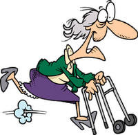 Too old to run?!