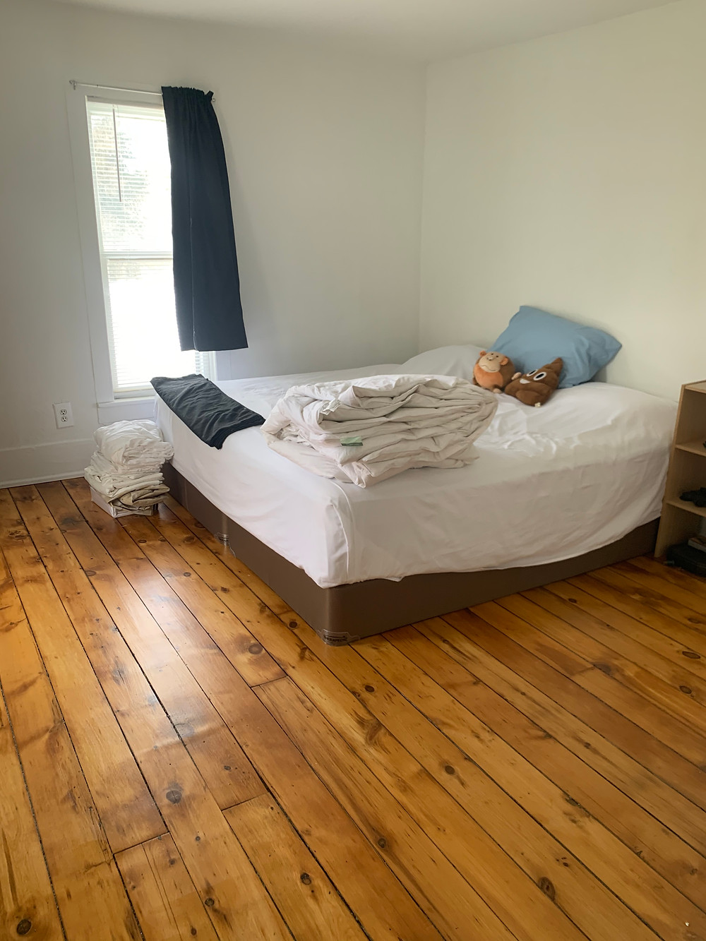 Heavy sanding destroys wear layer on hardwood flooring
