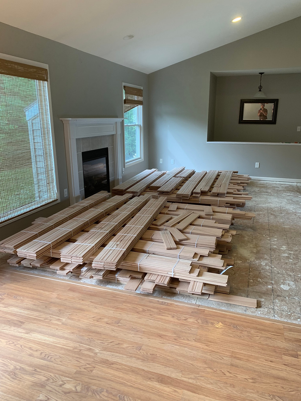 acclimating your hardwood flooring before installation