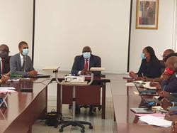 Commission secteur gazier au Ministère des Hydrocarbures du Congo Brazzaville