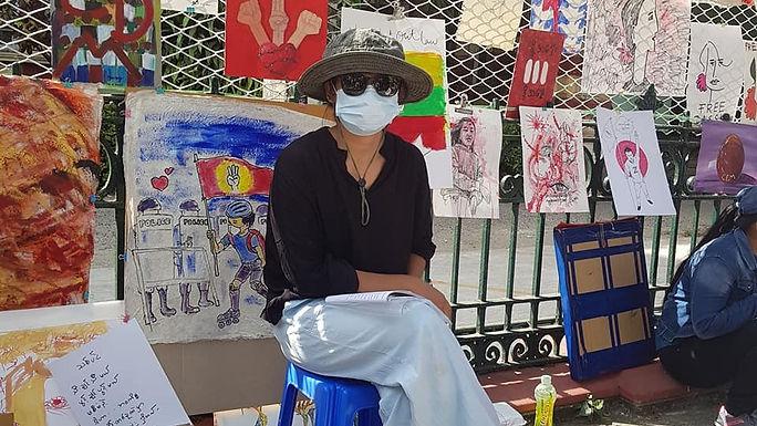Artistas expõem (n)o Myanmar