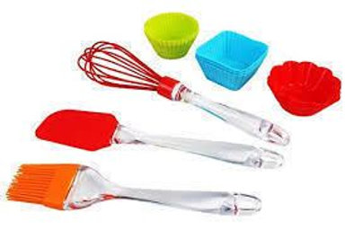 BAKEWARE HELPER KITCHEN TOOLS WITH SILICONE MUFFIN CUP