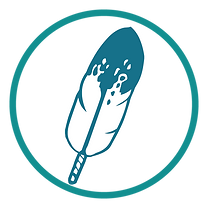 Feather - Blue Teal PNG Icon_BrownFeathe