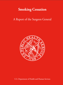 CDC, Smoking Cessation: A Report of the Surgeon General 2020