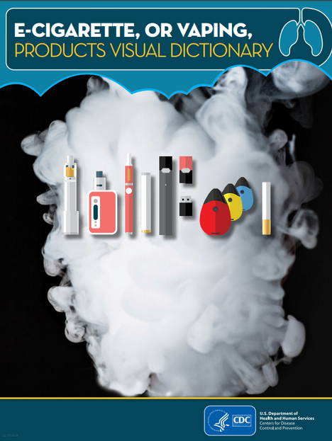 CDC: E-Cigarette, or Vaping, Products Visual Dictionary