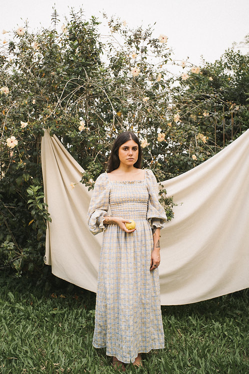 Vestido Maria Xadrez Doce