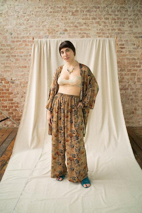 Pantalona Antiquário - tecido da bisa