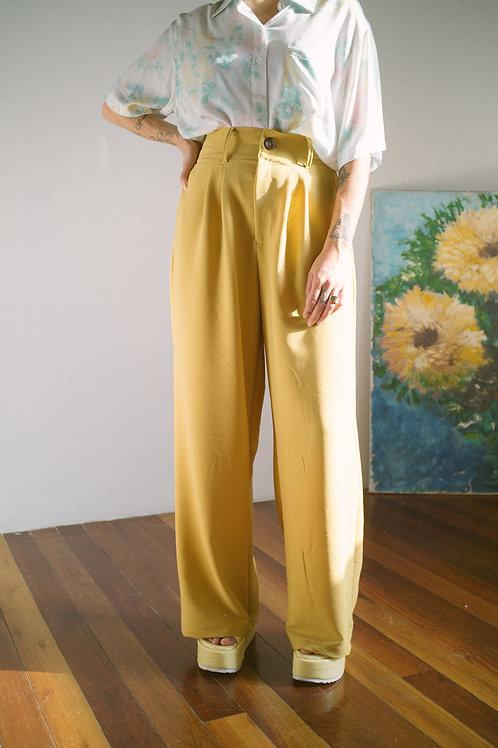 Pantalona Hibisco Amarelona