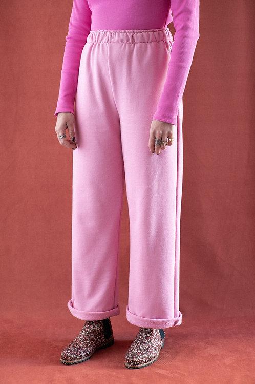 Pantalona Lunar - moletom rosa