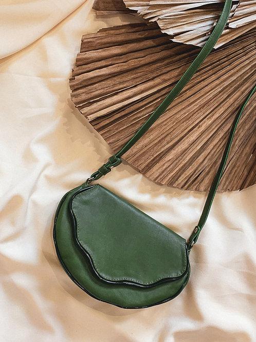 Bolsa Concha - verde folha