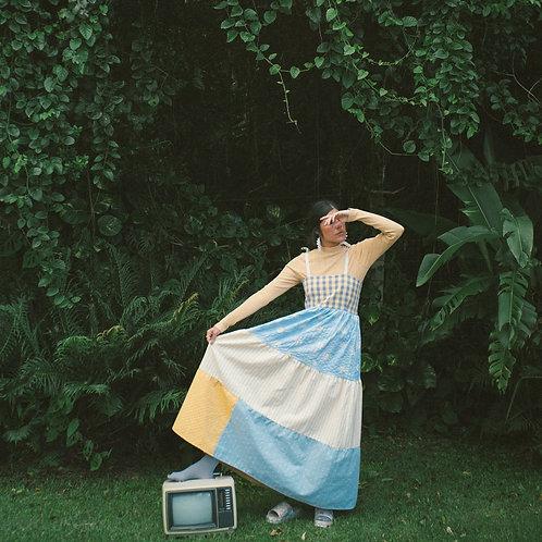 Vestido Petúnia Margarida Vintage