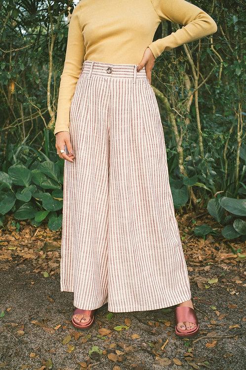 Maxi pantalona listrinhas