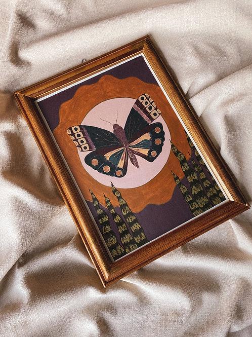 La Mariposa - quadro