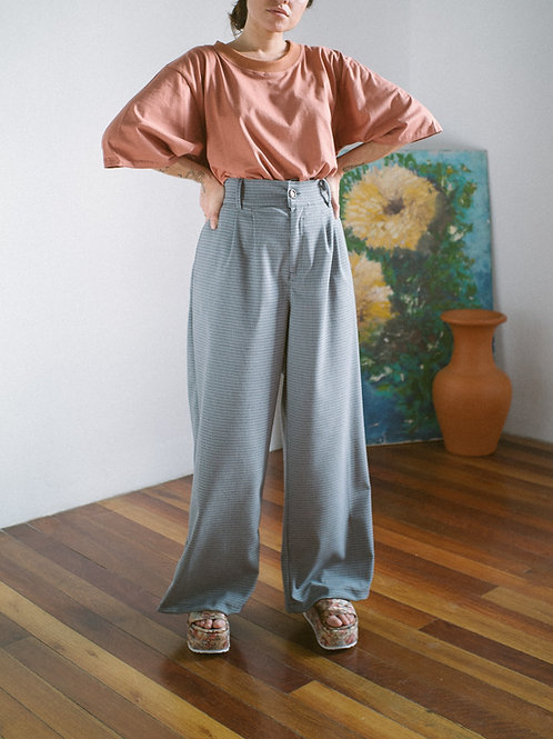Pantalona Hibisco Cinzinha