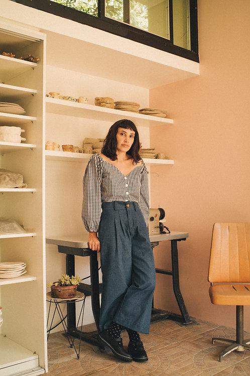 Pantacourt Hibisco Jeans