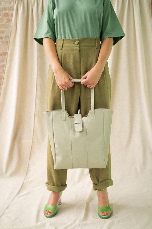 Maxi bolsa pra resolver pepinos - verde pastel