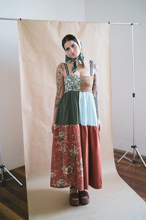 Vestido Petúnia Camponesinha