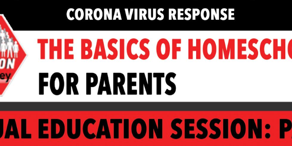 Basics Of Homeschooling Facebook Live