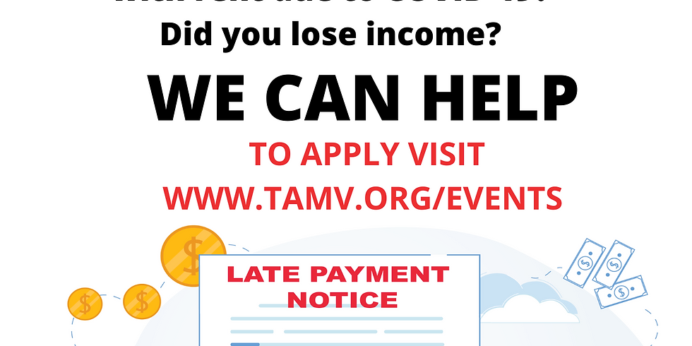 TAMV COVID-19 Rent Relief Program for Renters & Landlords