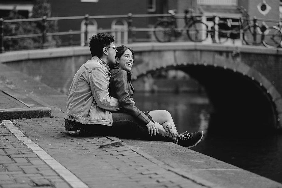 Wedding Photographer in Amsterdam | Amsterdam couple photoshoot