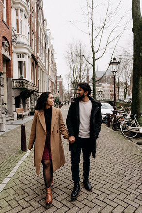 Engagement session in Amsterdam