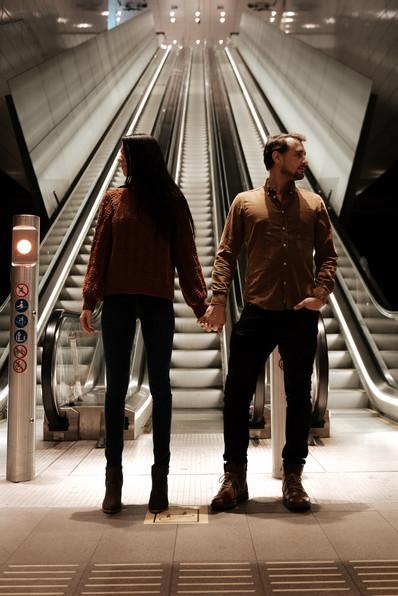 Amsterdam Subway Photography - framedbye