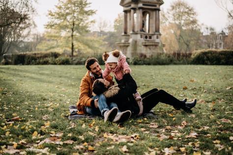 Amsterdam Family photographer | framed b