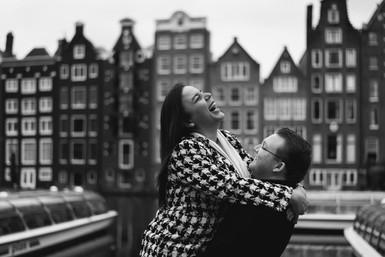 Couple photoshoot in Amsterdam
