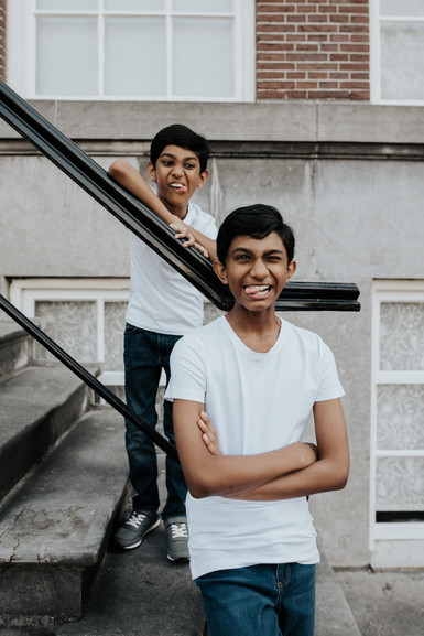 Brothers photography | Amsterdam family