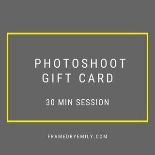 Amsterdam Photoshoot Giftcard framedbyem