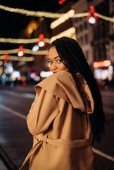 Amsterdam portrait photography at night