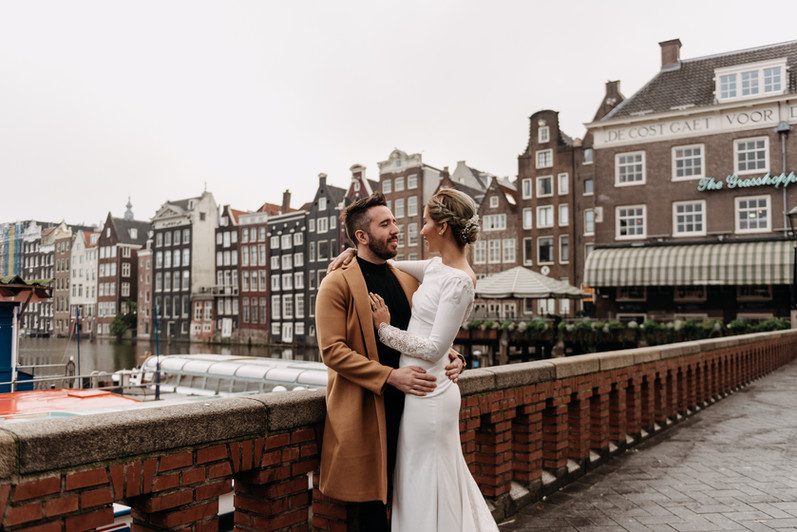 Elopement/Wedding photogtaphy in Amsterd