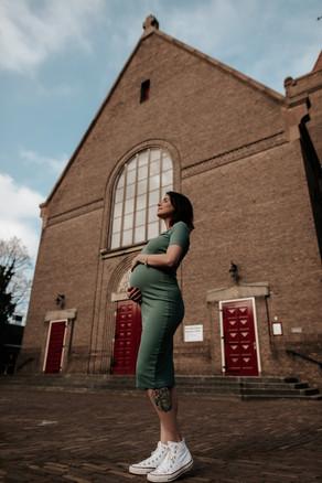 zwangerschapsfotoshoot amsterdam framedb