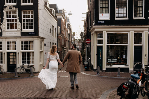 Elopement in Amsterdam