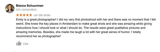 Best Amsterdam Photographer Emily Framed