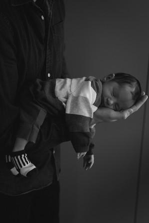 Newborn Fotografie in Amsterdam - framed