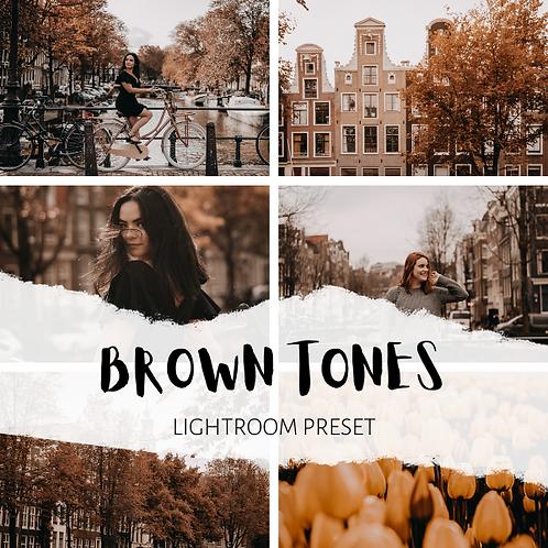 Brown Tones Lightroom Preset (Mobile + Desktop)