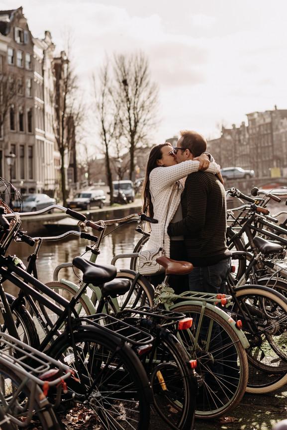 Amsterdam couple photoshoot