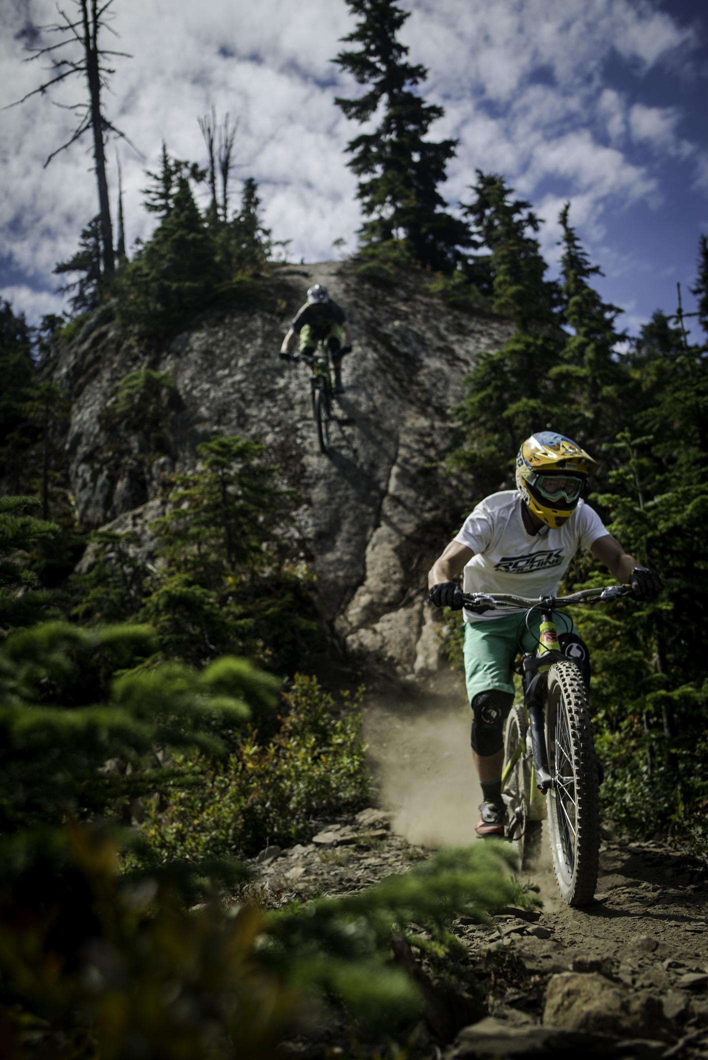 Kluci steep rock