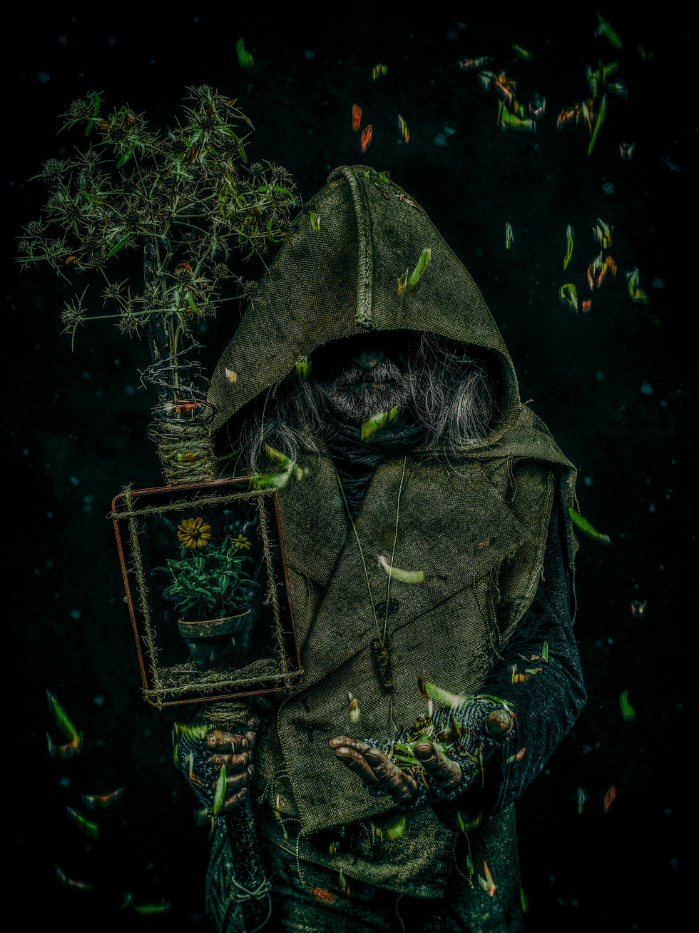 The keeper of the last flower