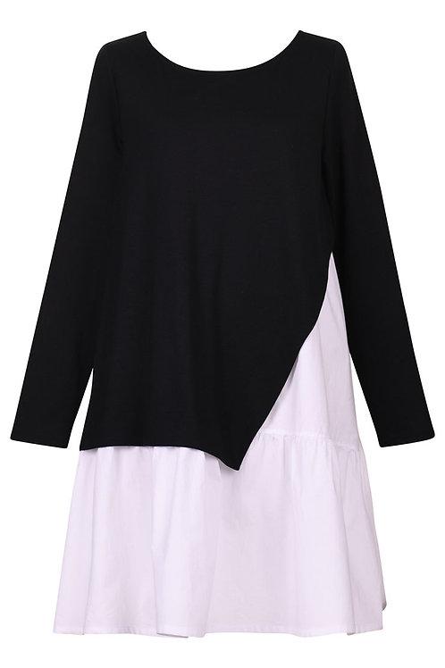 ALEMBIKA BLACK WHITE TUNIC